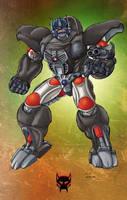 Beast Wars Optimus Primal by Dan-the-artguy