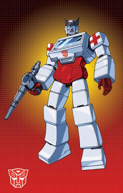 Transformers Generation 1 Cartoon Characters : Cartoon ratchet by dan the artguy on deviantart