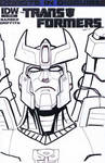 Transformers Robots in Disguise 1 sketch cover