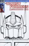 Transformers Regeneration #81 sketch cover
