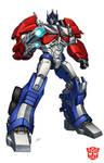 Optimus Prime TF Prime