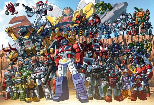 Autobots 85 groupshot