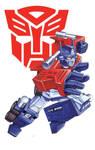 80s Retro Optimus prime
