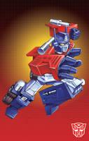 Optimus Prime by Dan-the-artguy