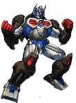 Optimus Primal Beast Wars 10th anniv version