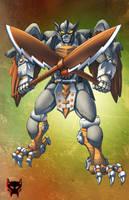 Beast Wars Silverbolt by Dan-the-artguy