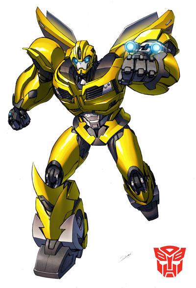 Prime Bumblebee by Dan-the-artguy