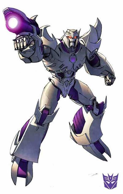 Prime Megatron by Dan-the-artguy