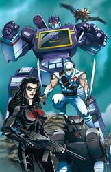 Transformers joe crossover pic