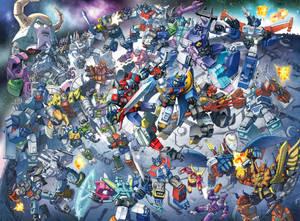 Giant Robots in Spaaaaace.
