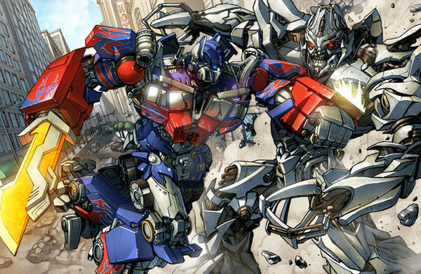 Image result for optimus vs megatron