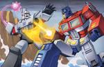 Optimus v  Megatron