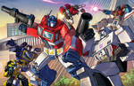 Transformers fight
