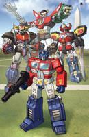 giant robots teamshot by Dan-the-artguy