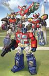 giant robots teamshot