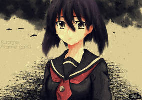 fanArt 12 - kurome from Akame ga Kill! by PaintforfunYoutube
