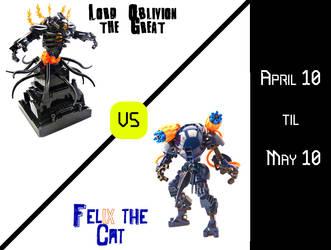 Oblivion vs Felix - The Great MOC-off by Felix-El-Gato
