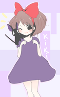 FA: Kiki's Delivery Service~! by Nya-moe