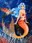 Mermaid - Bubble attack