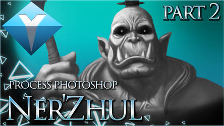Ner'Zhul - Digital Painting process Part2 by yax94470