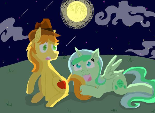 Trade - Under the moonlight by I-I-shadow