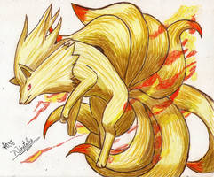 Ninetales Unleashed by Macuarrorro