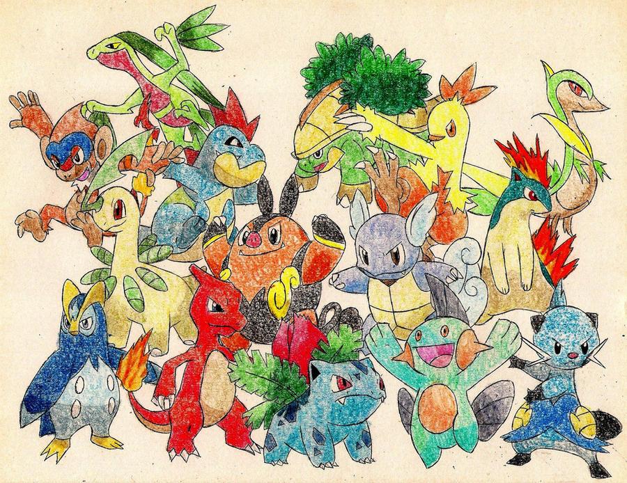 Starter Pokemon 2 by M...
