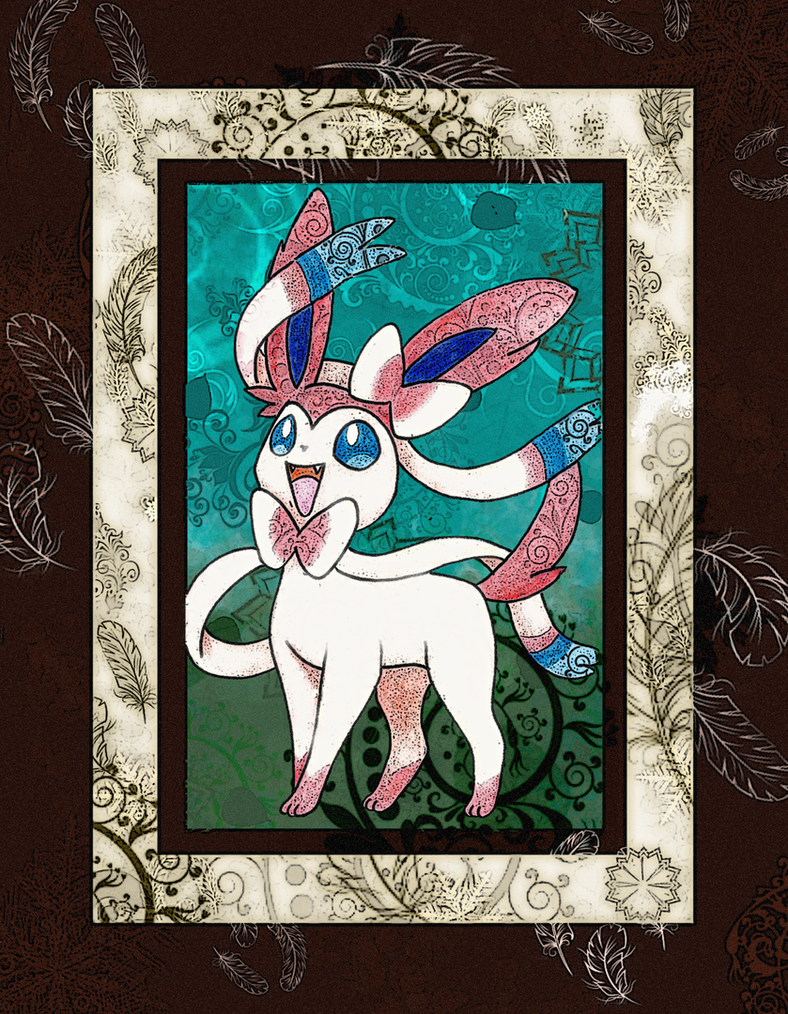 The Sylveon by Macuarrorro