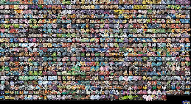 Ken Sugimori's Pokemon by Macuarrorro