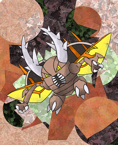 Mega Pinsir by Macuarrorro on DeviantArt