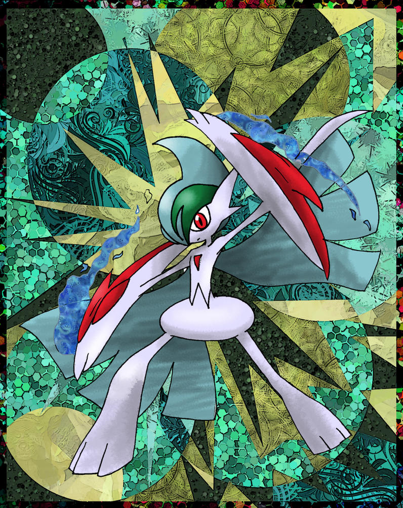 Mega Gallade By Macuarrorro On Deviantart