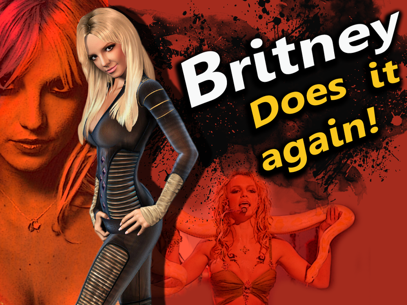 Vote for Britney Spears as Super Smash Bros. DLC by Macuarrorro