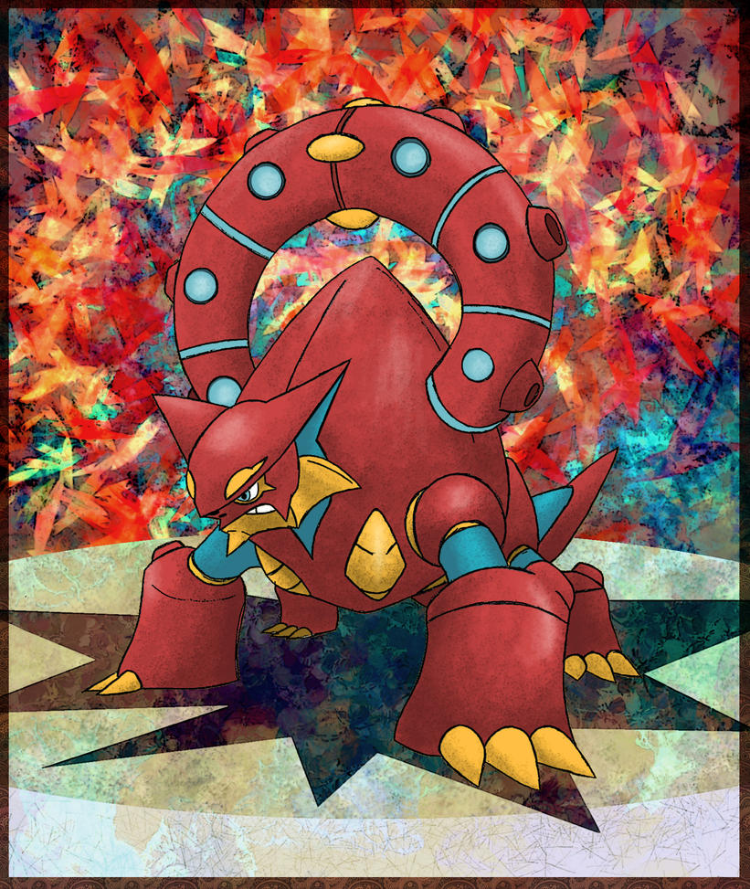 Finally Volcanion by Macuarrorro