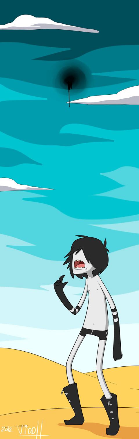 Joshua (Adventure time style) by Viddharta