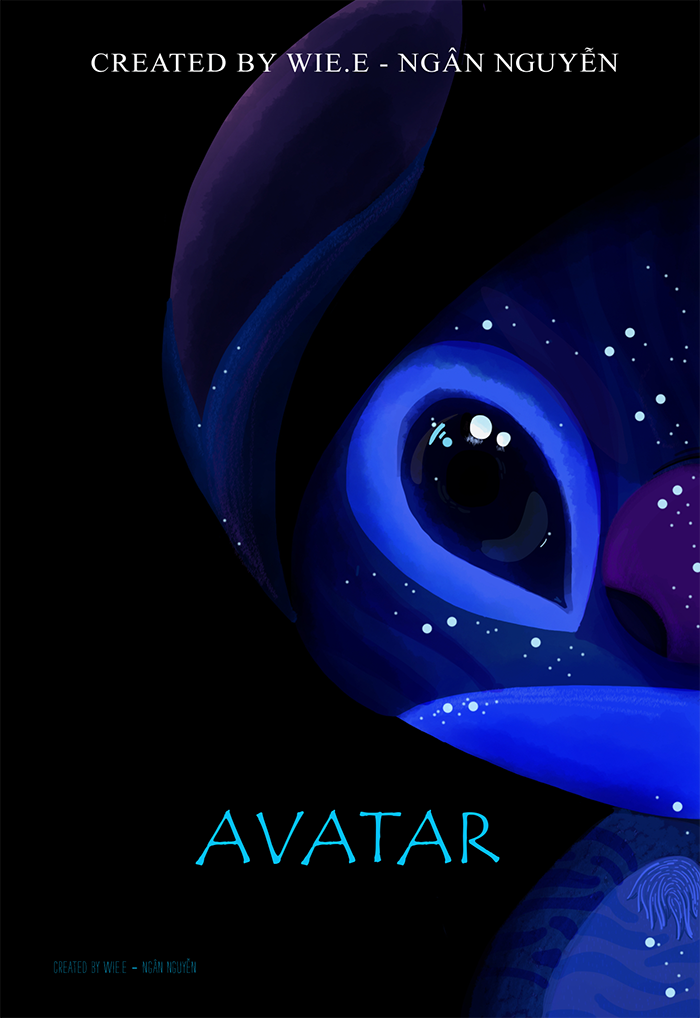 Avatar poster - Stitch version by Wie-e on DeviantArt