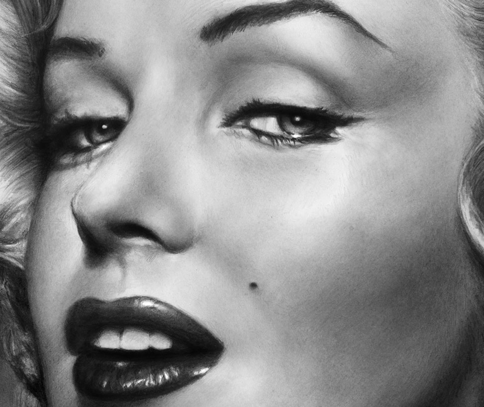 Marilyn detail by mwford