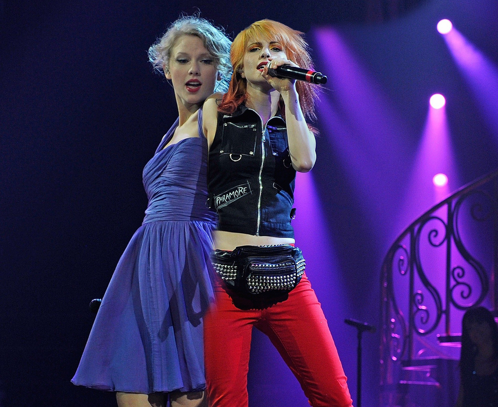 Taylor Swift and Hayley Williams 2 by TheMagiciansBox on ...