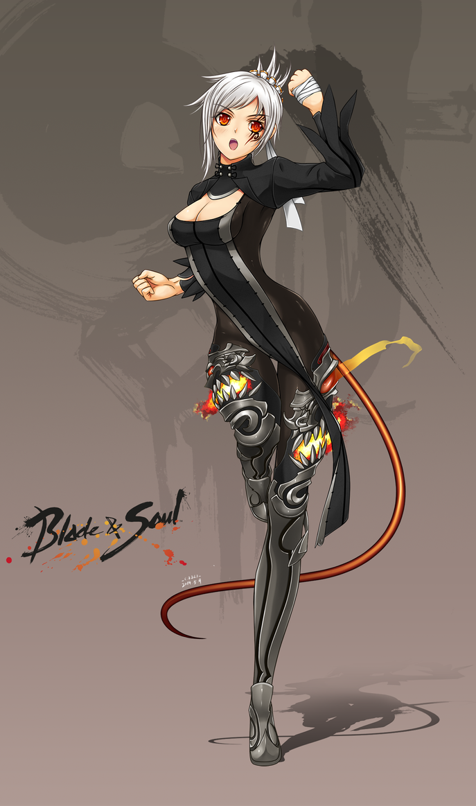 blade and soul wallpaper lyn