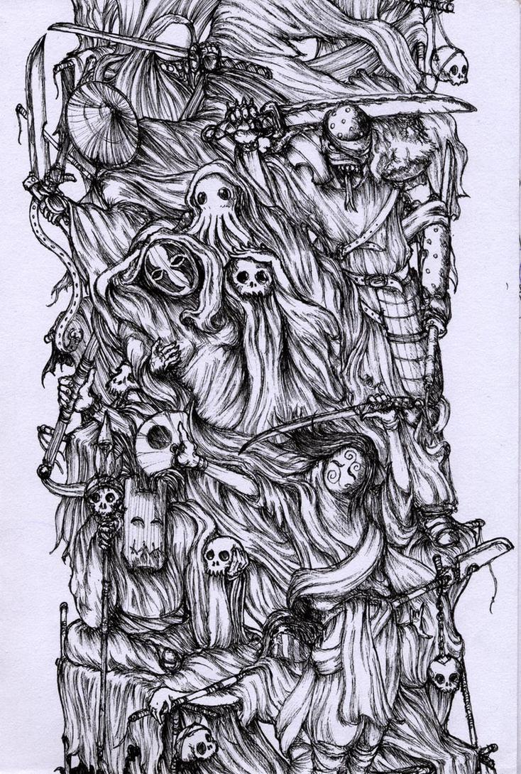 Pillar Of The Sleepless by gormenghast