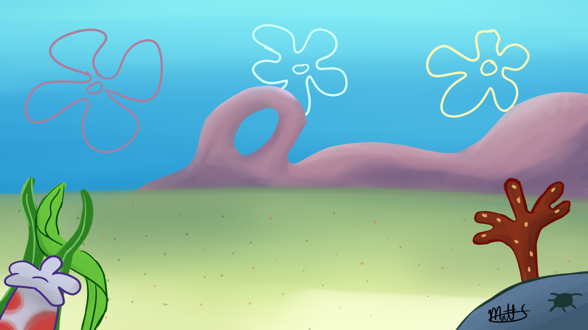 Spongebob background thing by lwb the fluffymystic on for Spongebob powerpoint template
