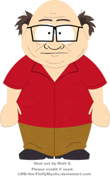 SOUTH PARK - Danny DeVito by LWB-the-FluffyMystic