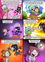Monkey-Scientist Crossover Comic #2 page 4