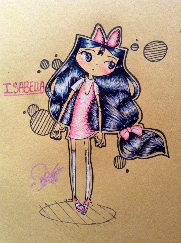 Gel Pen Isabella by PhinabellaPhan