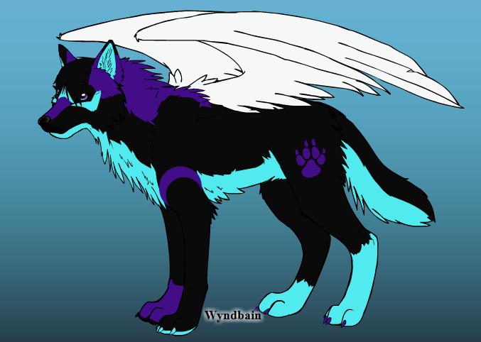 Fursona on Wolf Maker 2.1 by StormyDragonRider