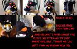 Mickey the rat furhead