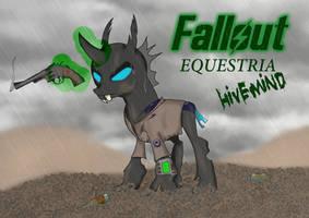 Fallout: Equestria, Hivemind.   Hero by AnubicDarque