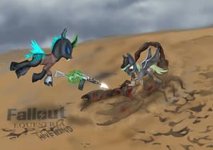 Fallout Equestria, Hivemind, chapter 9  Fallen