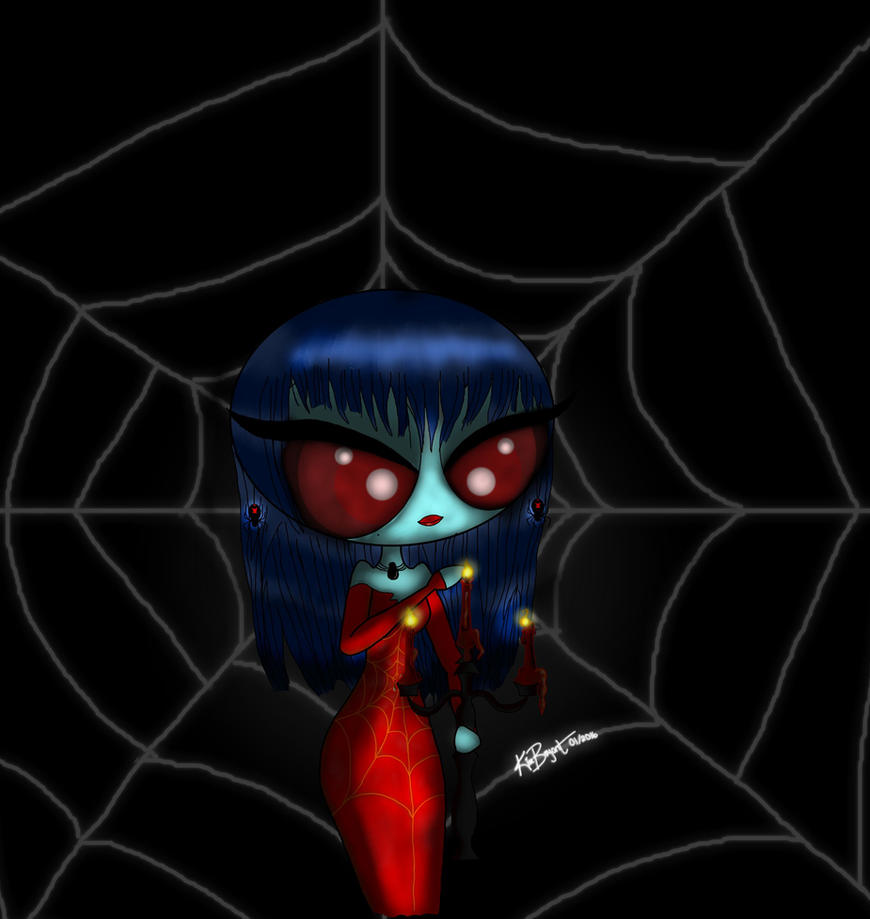 Black Widow by AfricanPrincess981