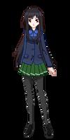 Kuroyukihime (Accel World) - Pixel Art