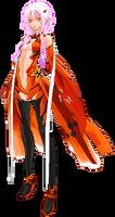 Inori Yuzuriha (Guilty Crown) - Pixel Art
